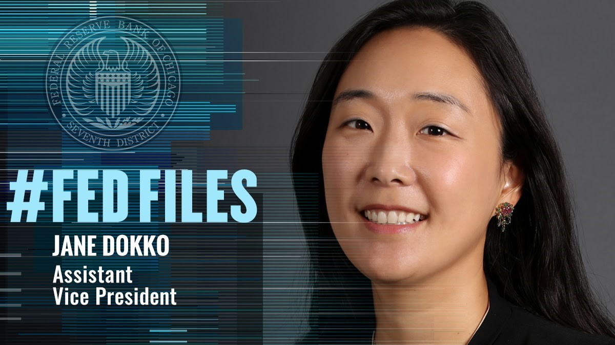 #FedFiles: AVP Jane Dokko leads the team that focuses on #econdev and community development. #EconTwitter #womenshistorymonth #womenshistorymonth2020 https://t.co/9WkFqjZ1Q3 https://t.co/mXfS6T784w