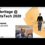 Image for the Tweet beginning: Gilad Japhet, MyHeritage Founder and