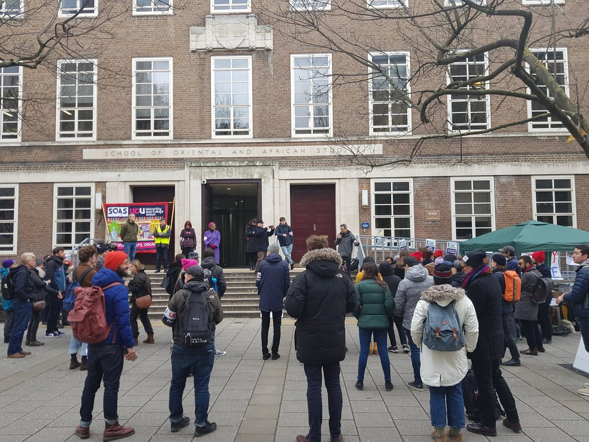 UCU SOAS rally #strike