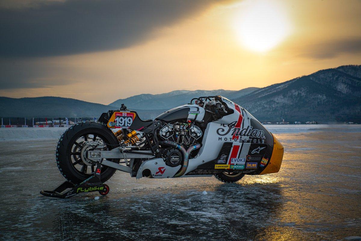 Press release: IndianxWorkhorse Appaloosa v2.0 Shakedown Test At The 2020 Baikal Mile Ice Speed Festival https://t.co/yyoL5OVMZo https://t.co/bp2kQlpuvZ