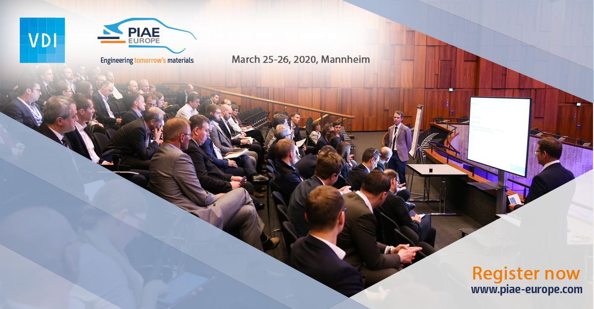 Cooperation, interaction and knowledge transfer are key. At this year's #PIAE we offer top presentations and 60-minute workshops. @SimpaTec will have their own workshop. At the end you can take the opportunity to deepen your knowledge with participants. https://www.vdi-wissensforum.de/en/piae/?utm_source=Twitter&utm_medium=social&utm_campaign=01TA701020&utm_content=20200304…pic.twitter.com/JZsbpLXhNp