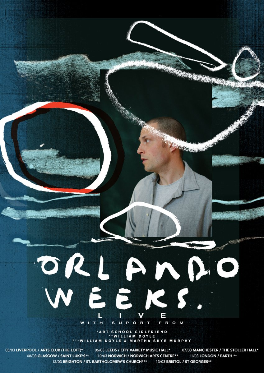 Win tickets to see former Maccabees frontman, @OrlandoWeeks on his solo UK tour this week! ⚡  Here's your chance to see him in Liverpool tomorrow, or Leeds on Friday! To enter, simply retweet and comment which show you'd like to go to!