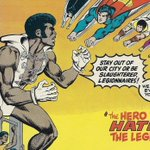 Today Matthew E (@MatthewElmslie) looks at a #LegionOfSuperHeroes story from 1976 that attempts to look at the issue of race 1000 years in the future. By today's standards, it doesn't hold up well. Join him for Time Beacons, Part… https://t.co/ROqB1i7p4v