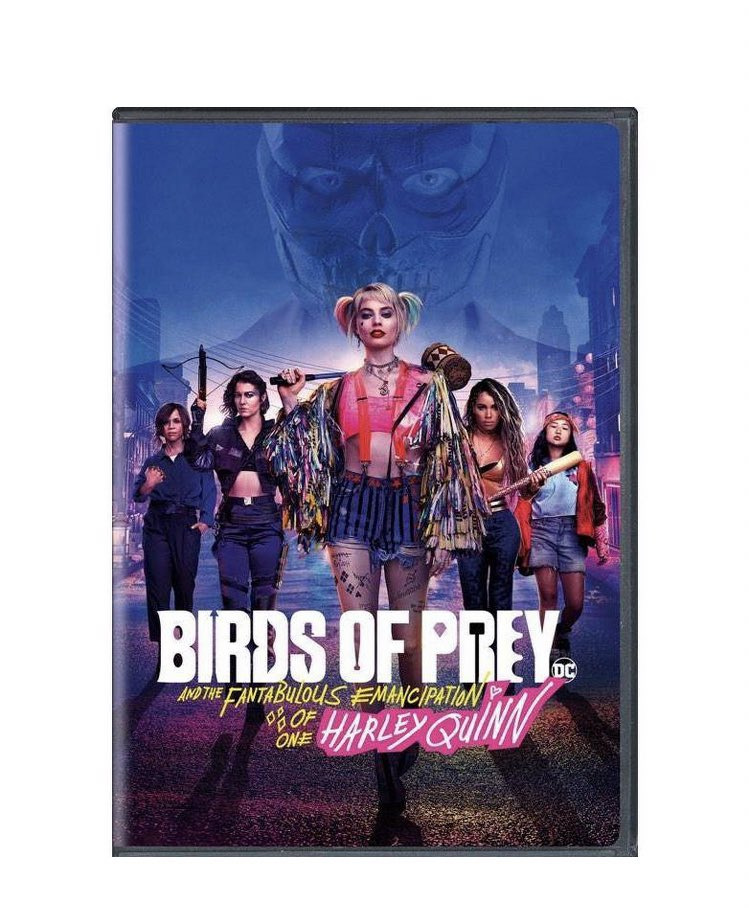 Birds Of Prey On Twitter Birdsofprey 4k Blu Ray Steelbook Coming In June 2020 By Cine Museum Art Also The Cover Art For Standard Dvd And 4k Blu Ray Is Released Harleyquinn