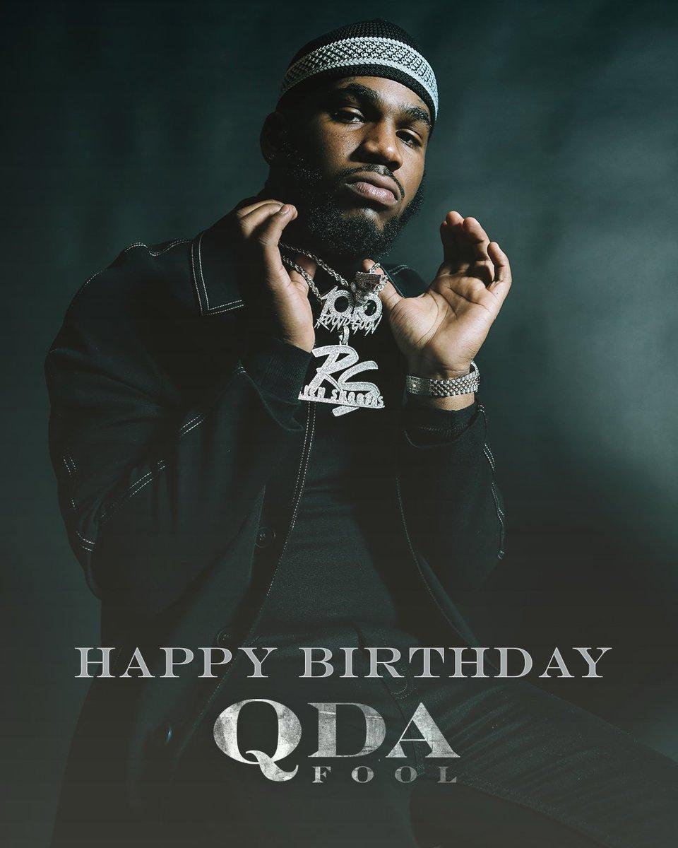 Happy birthday, @Qdafool_RS! 🎂