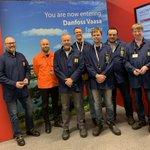 Image for the Tweet beginning: Interesting visit to Danfoss Vaasa