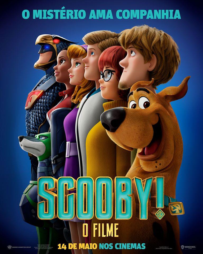 """Cinemito on Twitter: """"Poster nacional de Scooby! O Filme. O novo ..."""