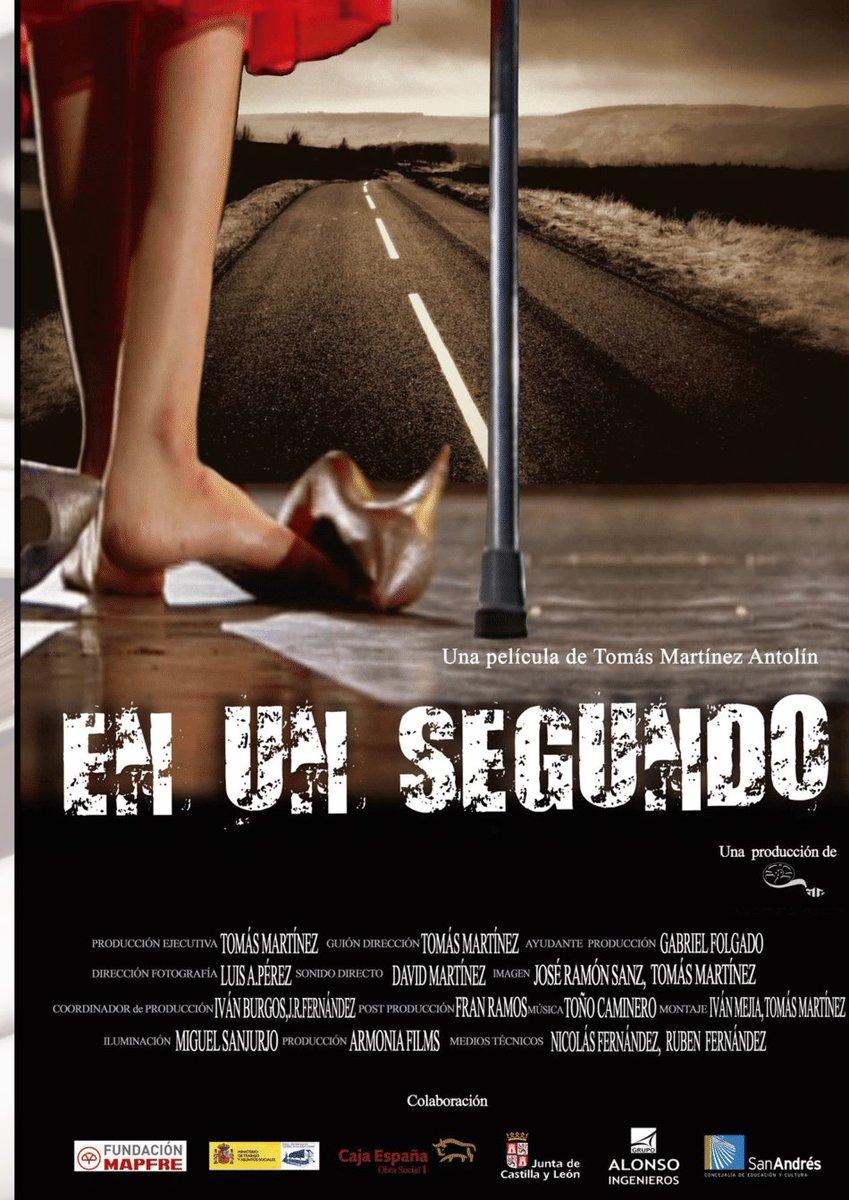 """También seguimos en #León con el ciclo de cine social Hoy miércoles  """"En un segundo"""" una película de Tomás Martínez Antolín   #CastillayLeón @UGT_Leon    #CineSocial #EstoEsUnNoPararpic.twitter.com/4blGB40jvn"""