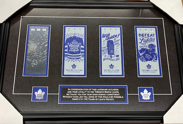 Toronto Maple Leafs limited edition commemorative collectibles are available for pick-up, downtown Toronto at great prices. Buy an item & get a free Team Canada 🇨🇦 folding tray table. 🙂 https://t.co/5iaODWl3Cb