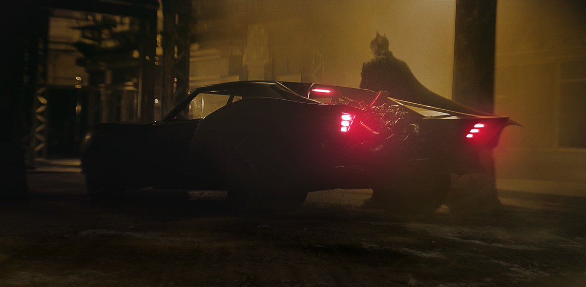 So you're tellin' me a BAT's gonna drive that car? How's it supposed to grab the wheel with its lil' wings? (jk the new Batmobile is rad)