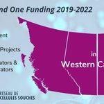Image for the Tweet beginning: Western Canada regional breakdown of