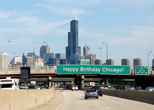 Image result for Happy 183rd Birthday Chicago willis tower