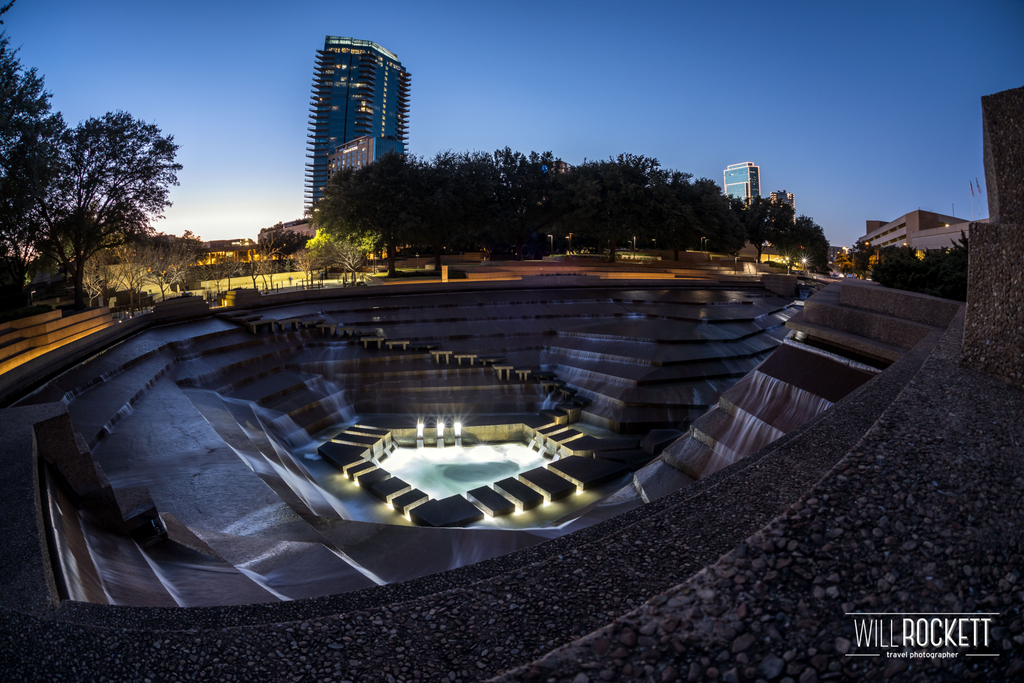 The Water Gardens in Fort Worth, #Texas  🇺🇸