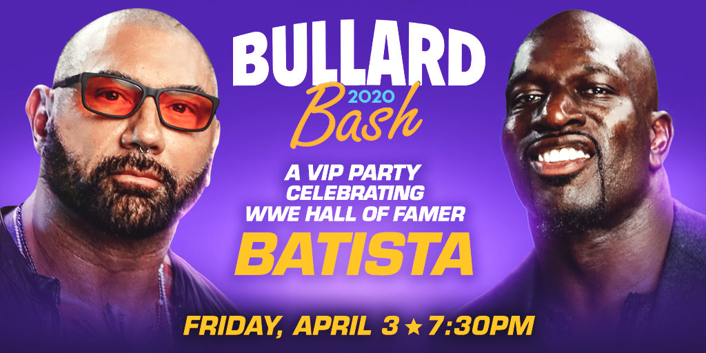 Titus O'Neil Announces Special Event To Celebrate Batista's Career During WrestleMania 36 Week