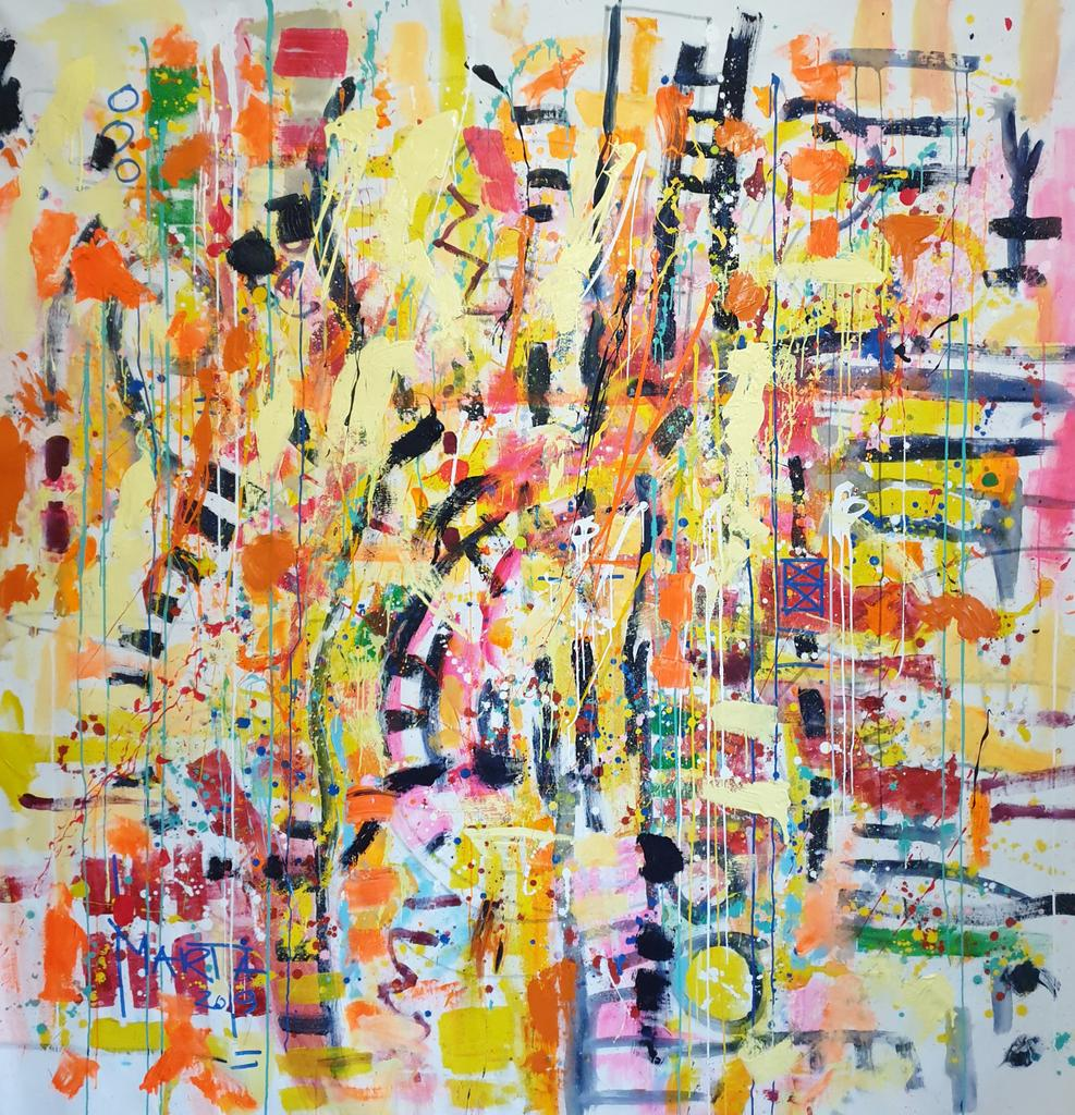 explosion of colors  200x200cm/6.6x6.6ft canvas-  hugs  #landscape #paintingforsale #modernart #abstraction #powerofcolor #artsy #lovecolor #spring #artmood #london #londonlife #instanyc  #luxury #impressionismpic.twitter.com/suEL1QpTUl