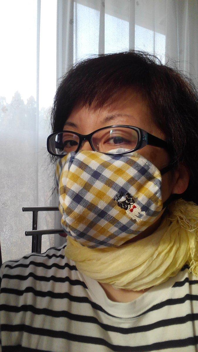 朝 イチ 手作り マスク