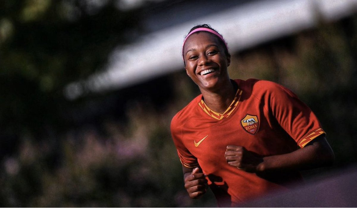 Congrats to Reggae Girl @allysonswaby10 for earning an extension of her AS Roma contract to the Summer of 2020. #AllysonSwaby #ASRoma #ReggaeGirlz #FIFAWWC2019 #JFF_Football #CedellaMarley #ReggaeGirlzFoundation #Rooted2Rise #GameChanger #WeBelong #CONCACAFW #ItalyWomensSoccer https://t.co/sDDyuFHiCO