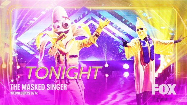 i've recently joined the Masked Singer fan-party,  and i gotta tell ya, this show is bananas !  trust me  on this one;  you really  shouldn't miss #TheMaskedSinger  TONIGHT 8/7C on FOX !  (i mean c'mon,   there's WAY worse things    i've been hooked on !)  😂©️😂