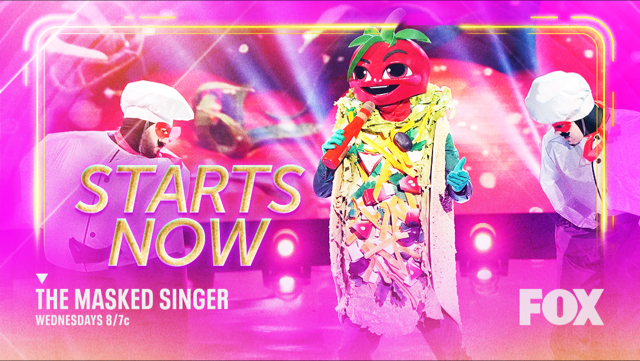 Forget a Taco Tuesday, @MAskedSingerFOX is bringing the 🔥🔥🔥 on a Wednesday. #TheMaskedSinger STARTS NOW!