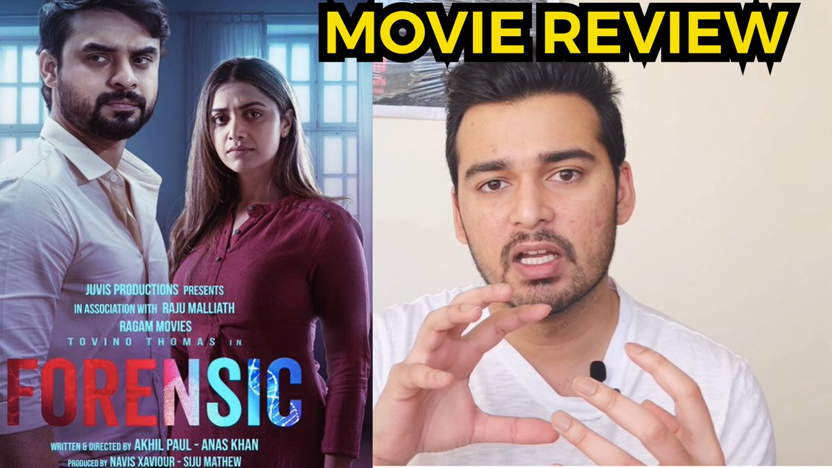 Nimish Halkar On Twitter Forensic Movie Review Ttovino Mamtamohan A Very Good Serial Killer Thriller Https T Co Cwlkmcppek