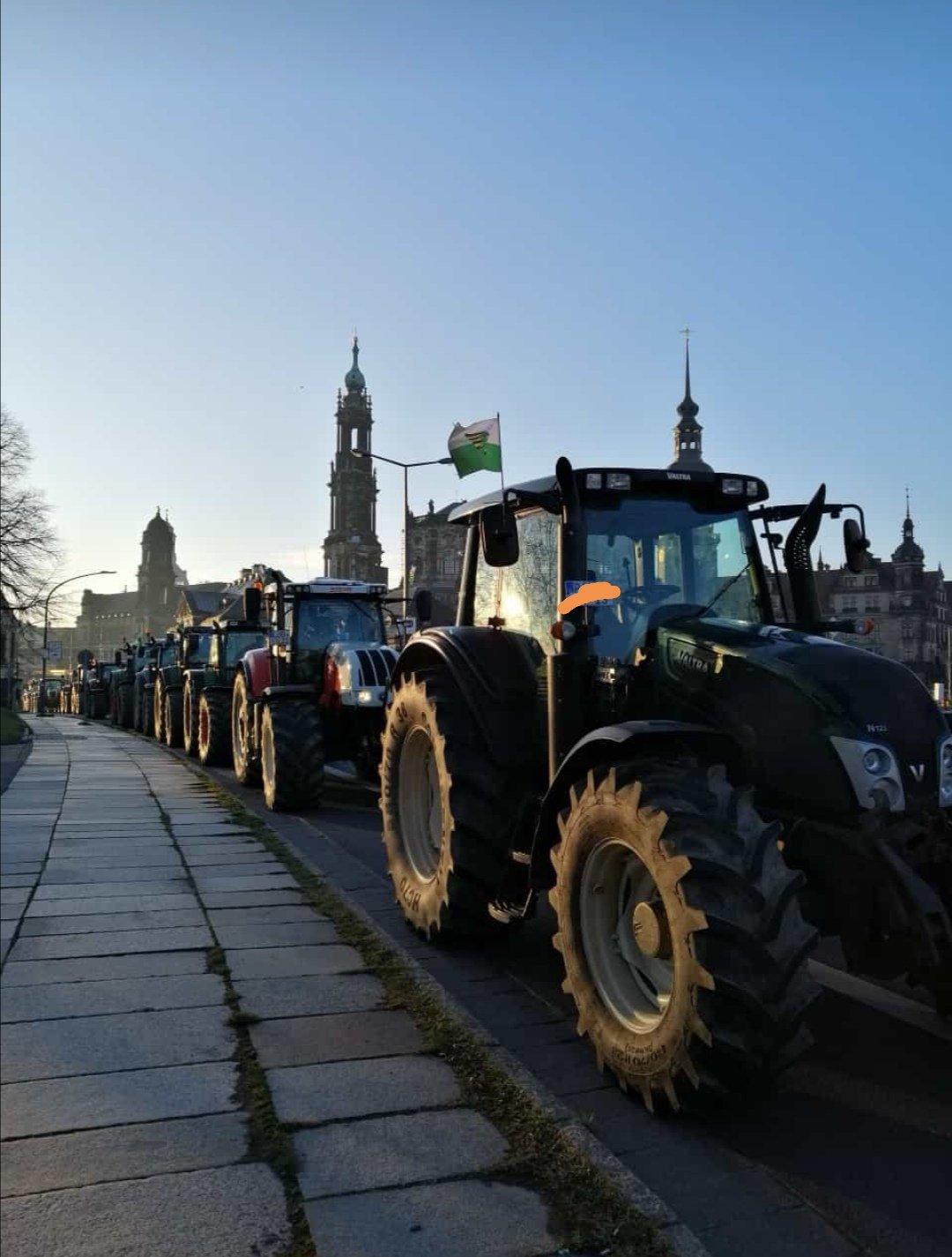 Bauernprotest am 22.Oktober – Demonstration gegen das Agrarpaket