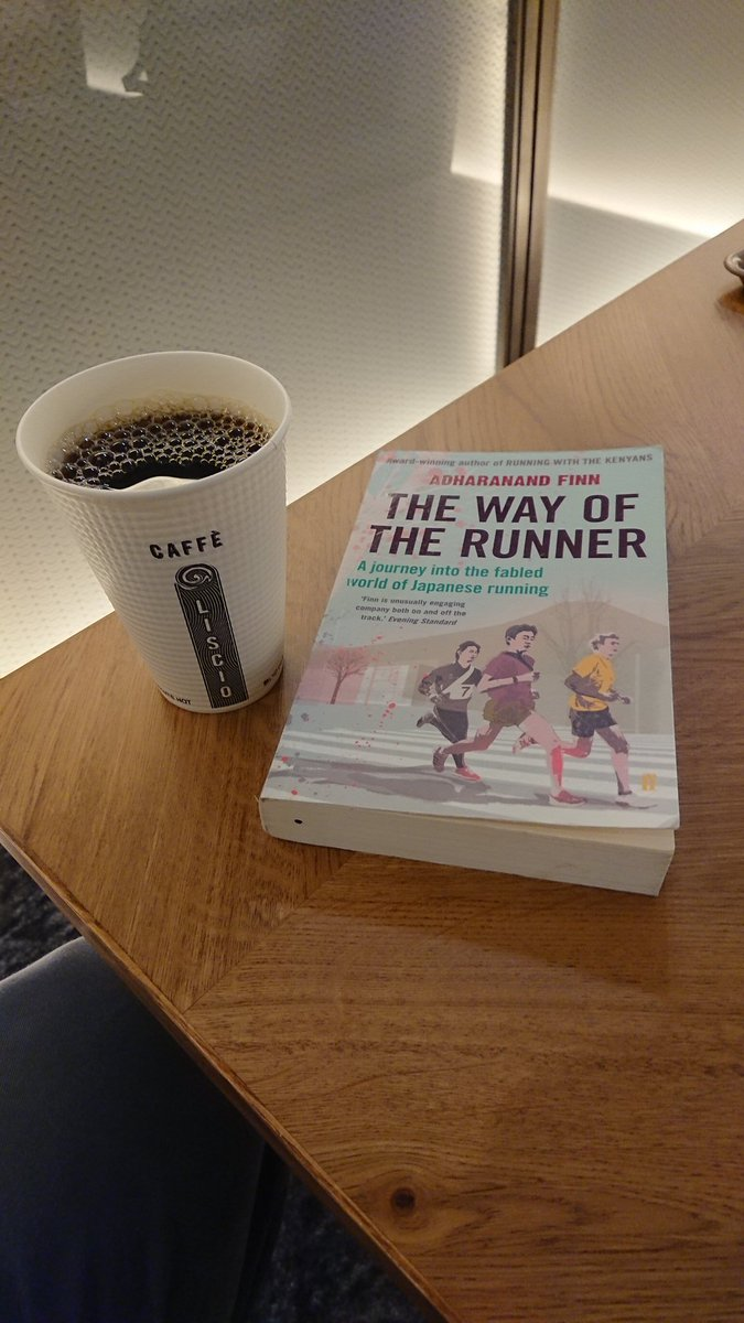 #NowReading2020 THE WAY OF THE RUNNER: A JOURNEY INTO THE FABLED WORLD OF JAPANESE RUNNING by @adharanand via @FaberBooks imbibed at Caffe Liscio in #Otemachi #大手町 pic.twitter.com/u640zIJvHk