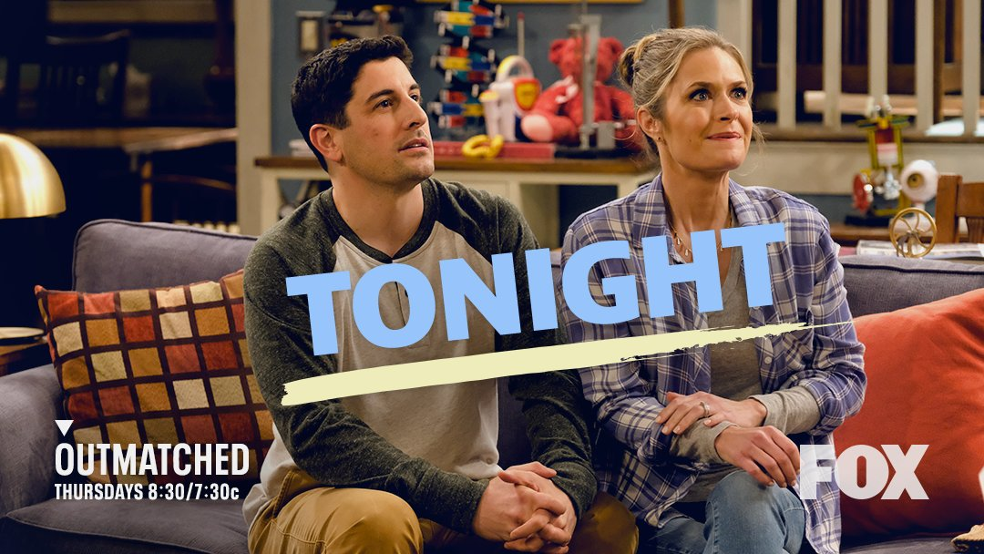 Why do these two look so suspicious? 🤔 #Outmatched is back TONIGHT at 8:30/7:30c on @FOXTV!