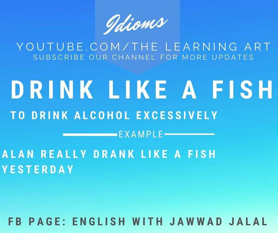 English Idioms #englishidioms #englishwithjawwadjalal #thelearningart #thejawwadjalal #englishlanguage #englishgrammarpic.twitter.com/UUrJY3EXay