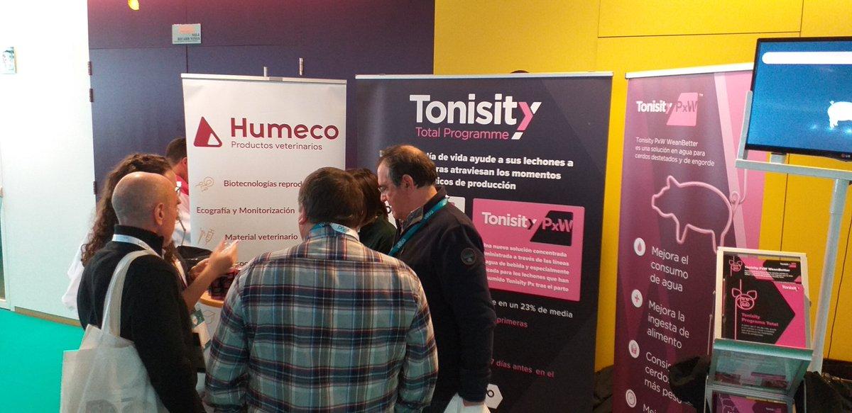Es el último día de PorciForum. Visite el stand de Tonisity (36) en La Llotja en Lleida y hable con uno de nuestros expertos sobre los beneficios del programa Tonisity Total para sus cerdos. @GetTonisity #porciforum https://t.co/4YNmDYgWJf