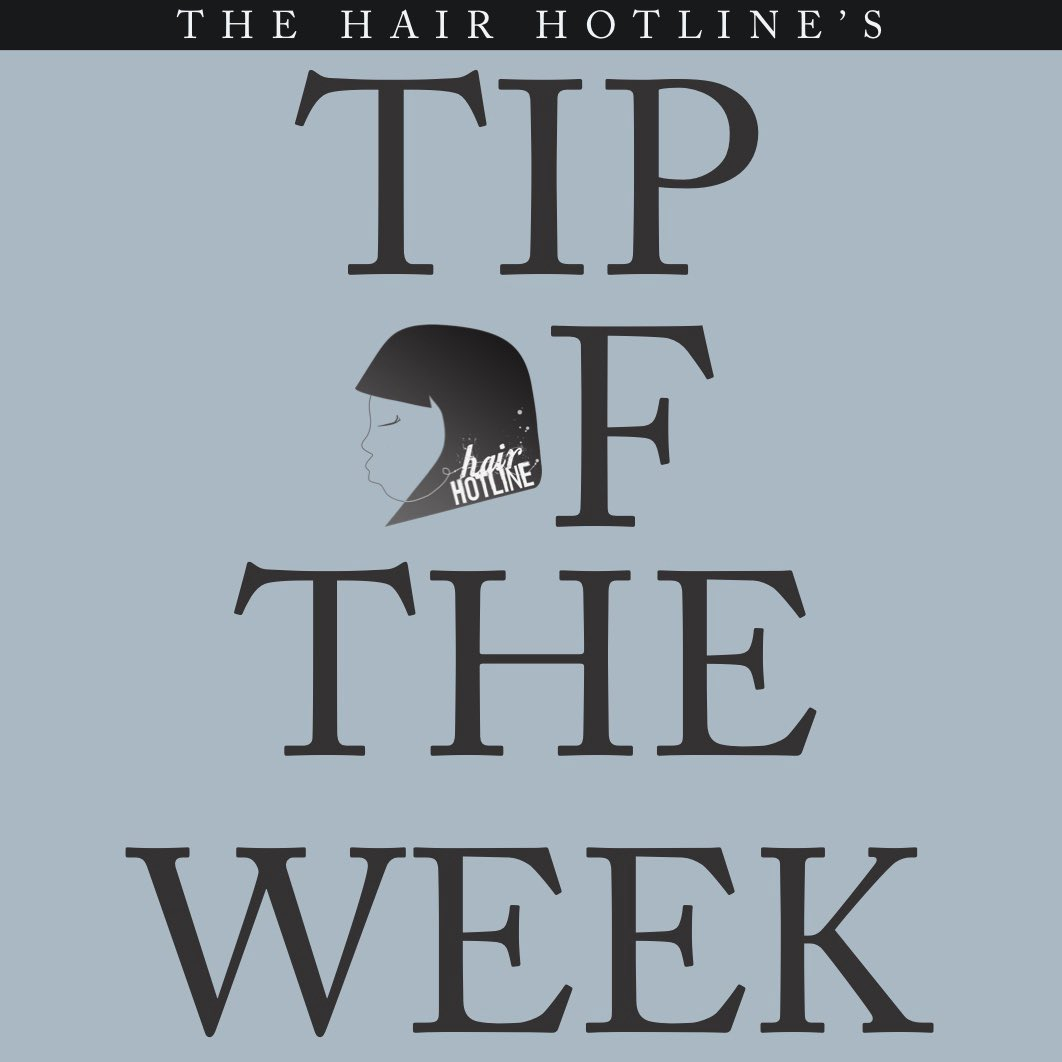 Tip Of The Week:  Always comb hair gently from the ends and work your way up to the scalp!! ——— #thehairhotline #kikioil #tipsforhair #haireducation #hairtip #hairhelp #hairhotline #prosonly #hairresolutions2020 #tipoftheweek #TOW #hairguide #hairguidance #tipspic.twitter.com/ruYLHlquUe