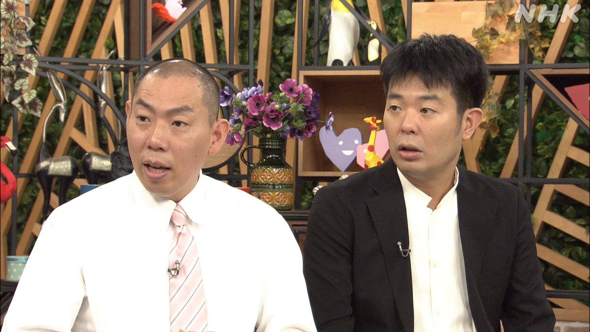 漫才コンビ・レギュラーの松本康太さんと西川晃啓さん