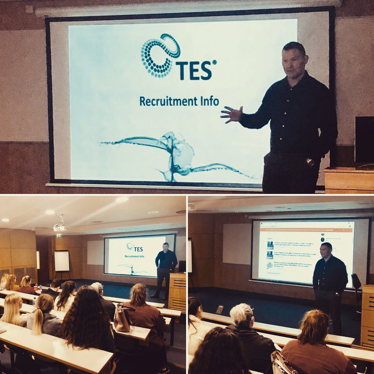 test Twitter Media - TES were delighted to deliver a recruitment workshop at @LYIT.  Our thanks for the staff & students who attended! https://t.co/p0SYTUewy1