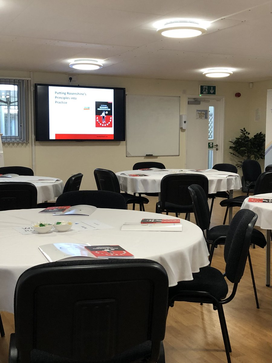 Waiting for today's conference with @teacherhead @TR_Inst Exciting times ahead!