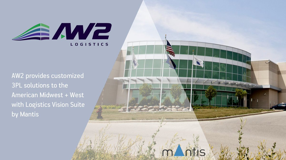 AW2 Logistics provides customized, #3PL solutions to the #UnitedStates Midwest & West with #LogisticsVisionSuite by @MantisWMS   #logistics #supplychain https://t.co/MkNiN5drhV https://t.co/B7ZRQD0tfG