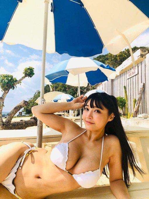グラビアアイドル柴咲凛(みねりお)のTwitter自撮りエロ画像11