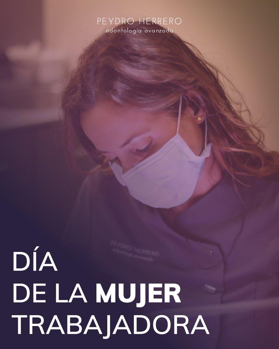 👏👏Hoy es el #DíaDeLaMujeTrabajadora y en @clinicapeydro estamos muy orgullosos de la gran cantidad de mujeres que componen nuestra plantilla https://t.co/IBSsgSPIWc