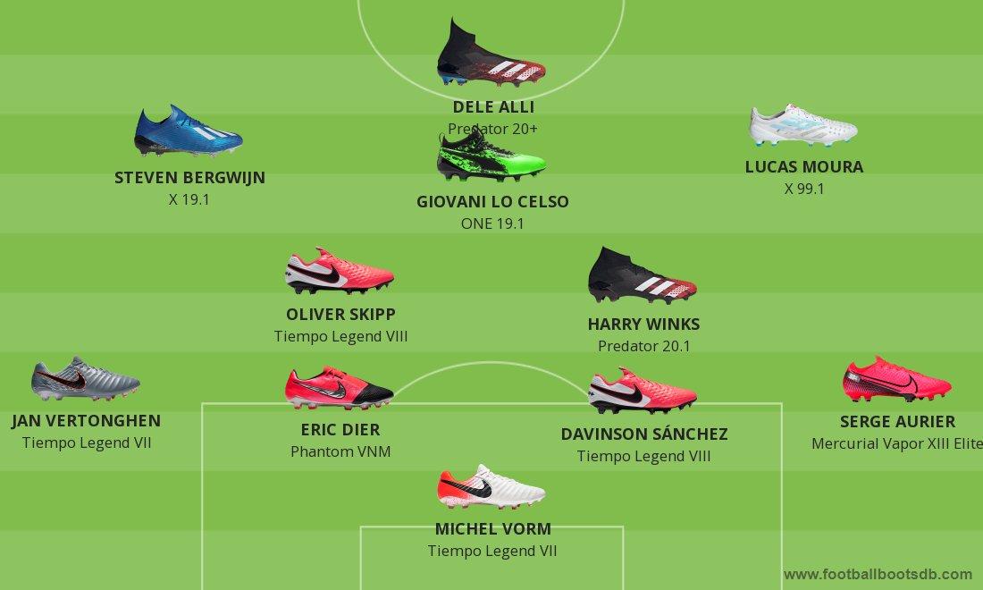 Boot XI - Tottenham Hotspur