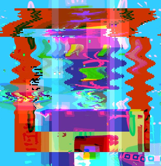 😮🆙 glitchart glitch art robotglitch robot digital artglitch artwork Origin img by @DauntingRoom