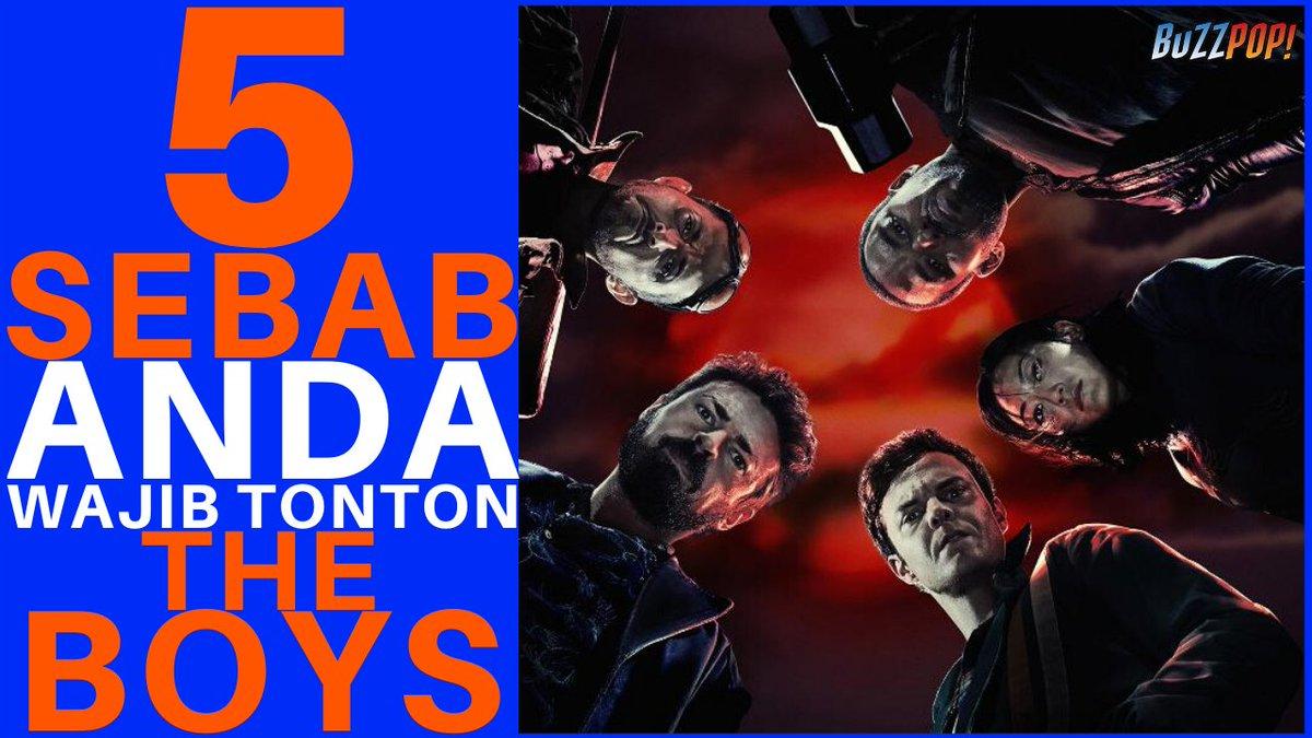 #KakiTV // 5 Sebab Anda Wajib Tonton Siri THE BOYS! http://ow.ly/g1r750yBtCs  #TheBoys #AmazonPrimeVideos #5Sebabpic.twitter.com/38AaxrrFnT