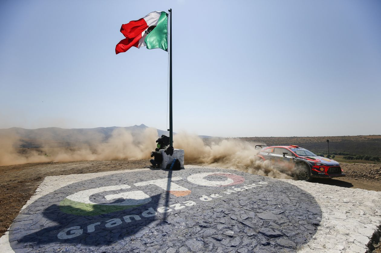 Andrea Adamo Rally Messico Hyundai