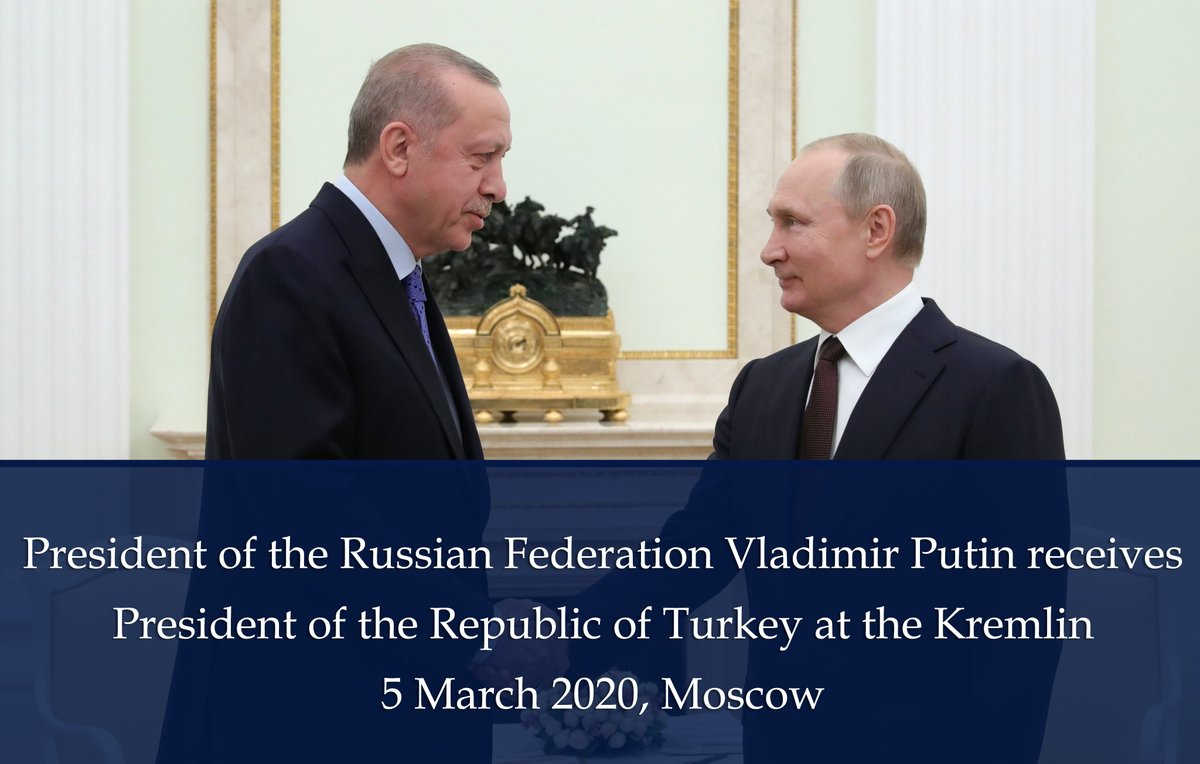 Mfa Russia On Twitter President Putin Received President Rterdogan At The Kremlin The Two Leaders Are Discussing Possible Solutions To The Syriancrisis Taking Into Consideration The Aggravation Of The Situation