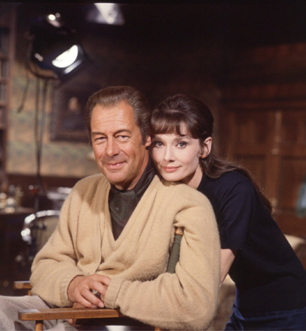 Audrey Hepburn On Twitter Happy Birthday Rex Harrison Rex Harrison And Audrey Hepburn Photographed By Bob Willoughby For My Fair Lady 1963 Https T Co Bunkyoys04