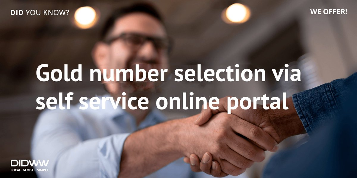 More information at https://www.didww.com/virtual_numbers/… #DIDWWservices #Goldnumbers #numberselectionpic.twitter.com/dzS2fyKy42