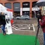 Image for the Tweet beginning: Erste Wallbox Impressionen aus Mannheim.