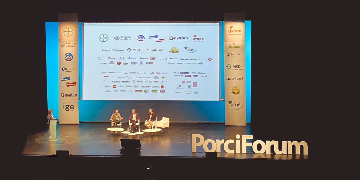 We're at PorciForum today, in Lleida, Spain, and proud to be a sponsor! #PorciForum #swine https://t.co/Klp61thjeX