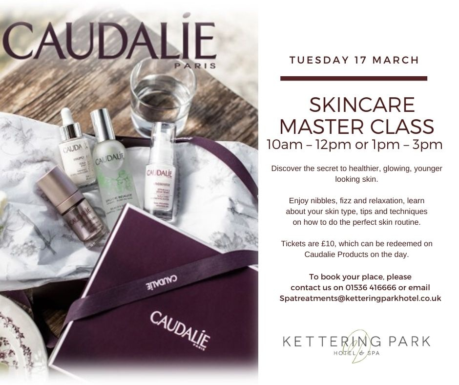 Book your Skincare Master Class now!