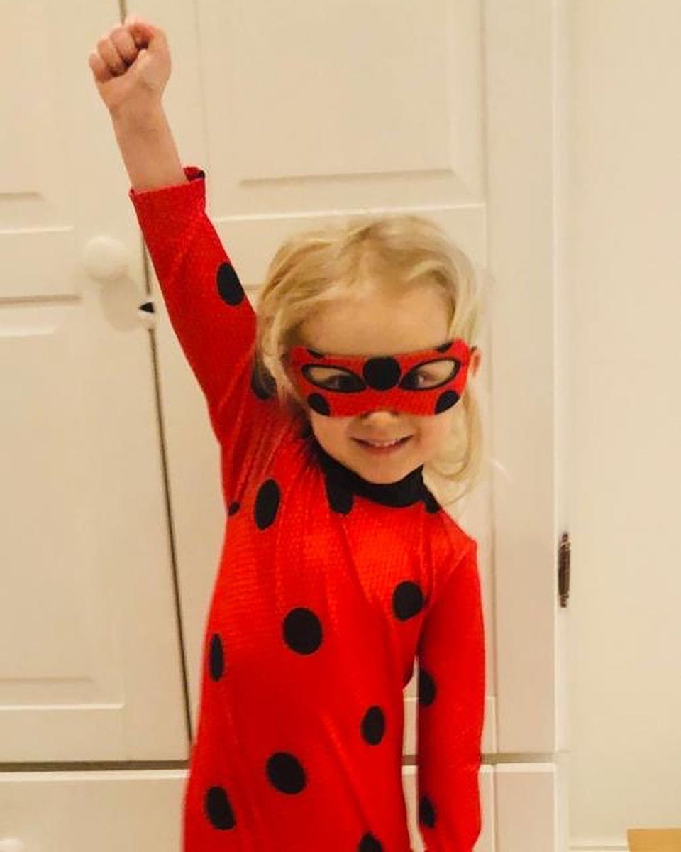 Happy #WorldBookDay - my granddaughter, who loves books, decided to dress as Ladybug today. Happy reading.
