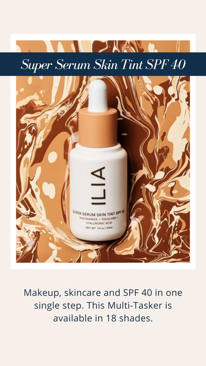 The NEW @iliabeauty Super Serum Skin Tint SPF 40 is here! Can't get to a store & need help finding your shade? Connect with a in-store #cleanbeauty expert with Credo Live! ----> https://t.co/C3vzLSKiJt https://t.co/KfMi9pvVfn
