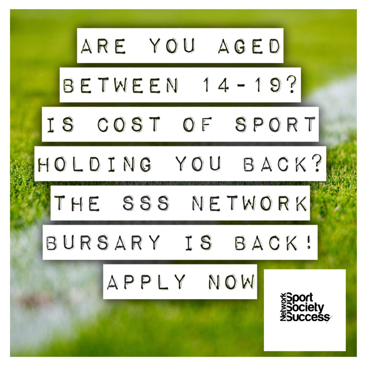 The time for applying is now! For more information head to https://t.co/3Fh61KzLrn for more information #bursary #sport #youthsports #sssnetwork #sportsocietysuccessnetwork #fightforgood #rt