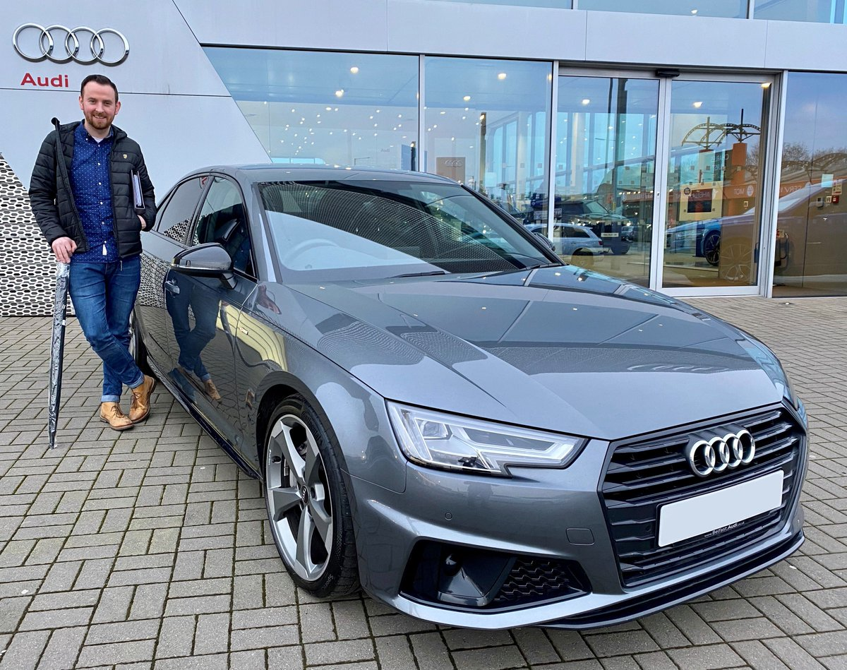 Ni Audi On Twitter Congratulations To Ryan Ward Who Collected His Audi A4 Black Edition In Daytona Grey From Sales Executive Christopher Davey All The Best With Your New Car Https T Co Zdzogqogwb